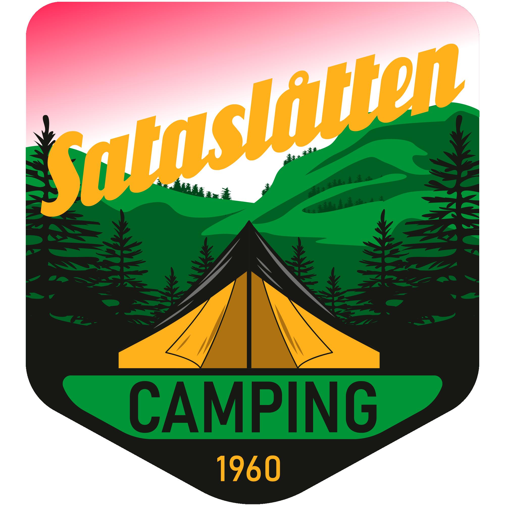 Sataslåtten Camping, logo